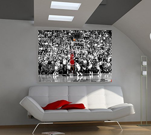 New Poster Michael Jordan Giant Wall Huge Art Cheering Basketball Fun And Exciting Print Size 39''X57'' Px34 Rare by Nice1159