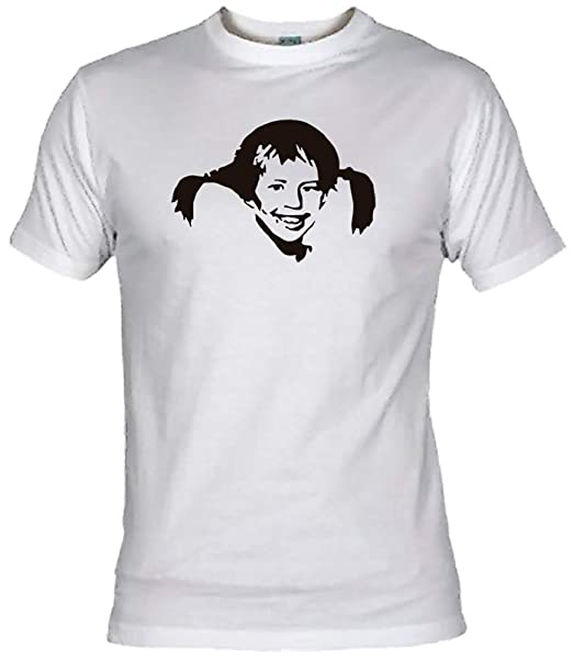 Camisetas EGB Camiseta Pippi Calzaslargas Adulto/niño ochenteras 80Žs Retro: Amazon.es: Ropa y accesorios