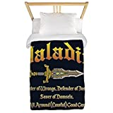 CafePress - Paladin All Around Good Guy - Twin Duvet Cover, Printed Comforter Cover, Unique Bedding, Microfiber