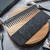 HYOUJIN 601 Black Carbon Wide Tooth
