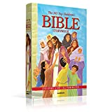 img - for 365 Day Bible Story Book for Children - Bible Stories for Children - Creation - Adam - Eve - Noah - Abraham - Jonah - Moses - Debroah - Samson - Ruth ... - Mary - Christmas Story - Padded Hard Cover book / textbook / text book