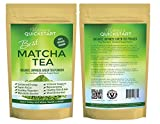 Best Matcha Tea Powder Fat Burner Flow State Energy Mood Brain Food Memory, Focus Paleo Ketogenic Glycemic Diets Antioxidants Includes $19 Superfood Organic Matcha Tea E-book Free!