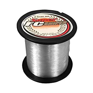 Sunline Super FC Sniper Fluorocarbon Fishing Line (Natural Clear, 5-Pounds/200-Yards)