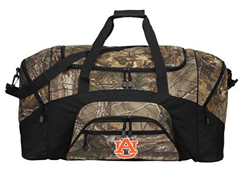 Broad Bay Large Realtree Camo Auburn University Duffel Bag Or Camo Auburn Gym Bag