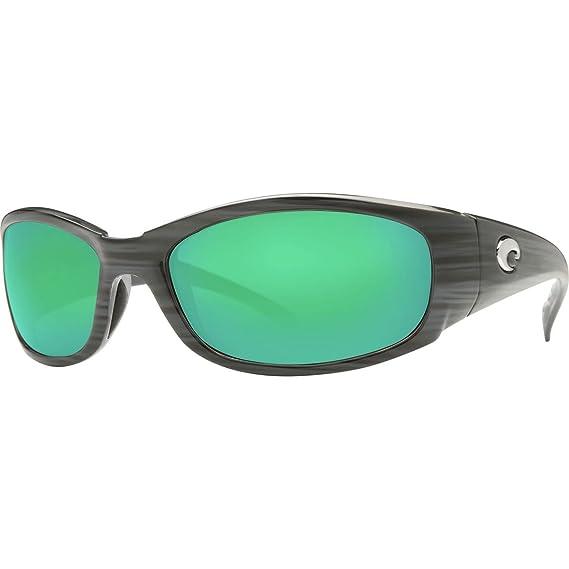 96ad9cd0cc969 Costa Del Mar HH28OGMGLP Hammerhead Silver Teak Frame Green 580G Polarized  Lens Sunglasses NEW  Amazon.in  Clothing   Accessories