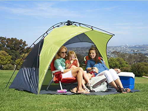 Lighspeed Outdoors Sun Shelter with Clip-Up Privacy Feature