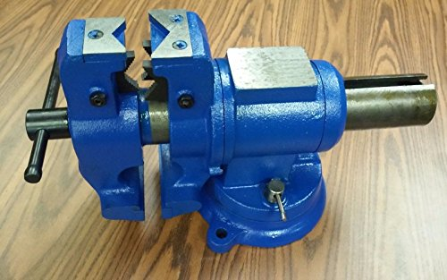 6 Multi Purpose Rotating Bench Vise Heavy Duty 850 Rt6 Amazon