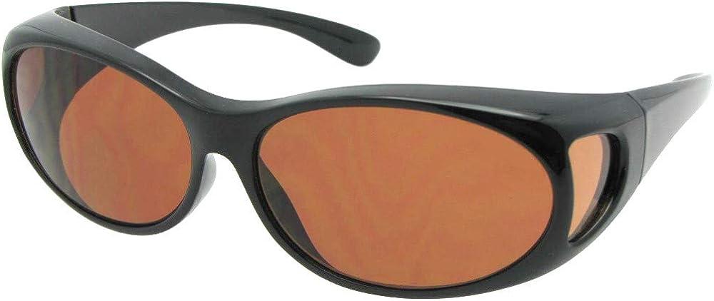 Small Non Polarized Sunglasses Over Glasses F3