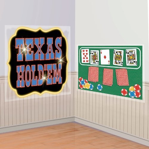Casino Party Scene Setters Texas Hold Em Poker - Las Outlets Vegas Factory
