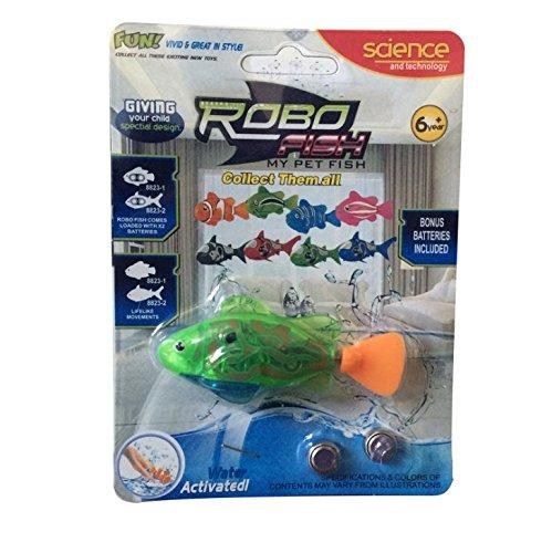 Buweiser Emulation Elektronische Fisch Baby Schwimmen Bad Elektrisches Bad Licht Spielzeug Magisches Licht Sensing 1 ST/ÜCK A