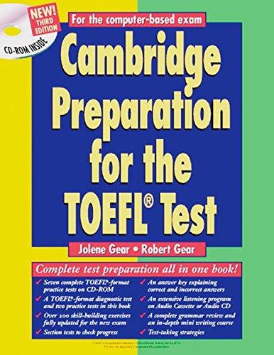 Cambridge Preparation for the TOEFL Test: Book/CD-ROM