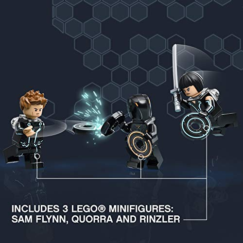 51fJSJ3v26L - LEGO Ideas TRON: Legacy 21314 Construction Toy inspired by Disney's TRON: Legacy movie