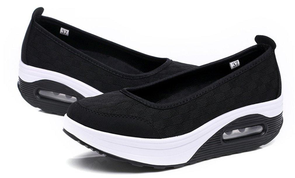 NEWZCERS Sneaker Donna, (Stieg Rot), 41 EU