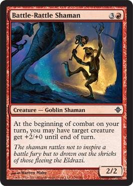 Magic: the Gathering - Battle-Rattle Shaman - Rise of the (Dragon Rattle)