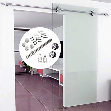 Herramienta para puerta corredera de acero inoxidable de cristal: Amazon.es: Bricolaje y herramientas