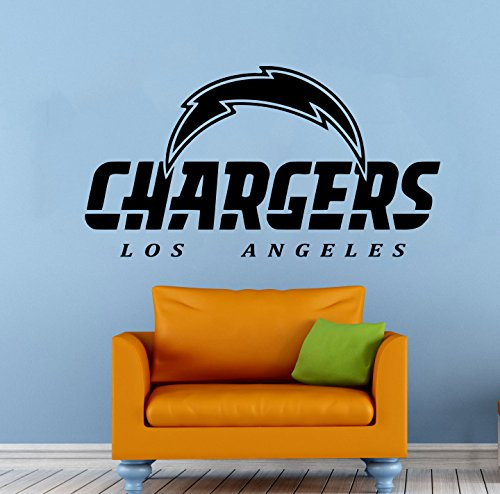 Los Angeles Chargers Football Team Vinyl Decal Wall Sticker NFL Emblem Logo Sport Poster Home Interior Removable Decor