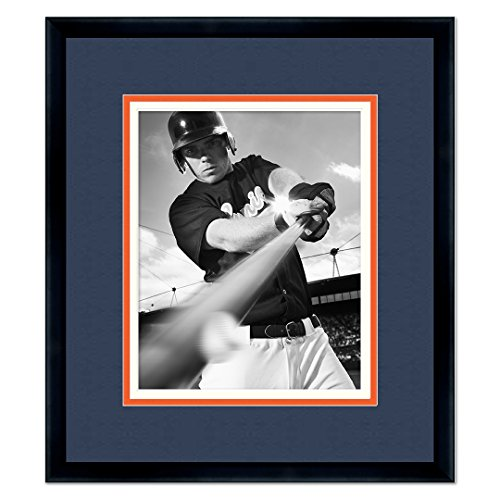 Detroit Tigers Classic Black Wood Photo Frame Made to Display 11x14 Photos