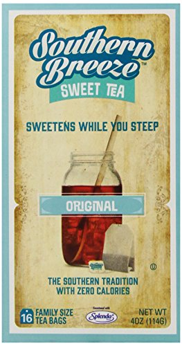 Southern Breeze Sweet Tea, 16 Count (Pack of (Southern Sweet Tea)