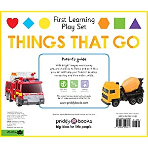 First Learning Play Set: Things That Go (First Learning Play Sets) US Edition