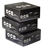 OCB PREMIUM SLIM Rolling Paper King Size x 50 - 3 boxes