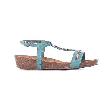 Shoes , Sandales pour femme - vert - Green,