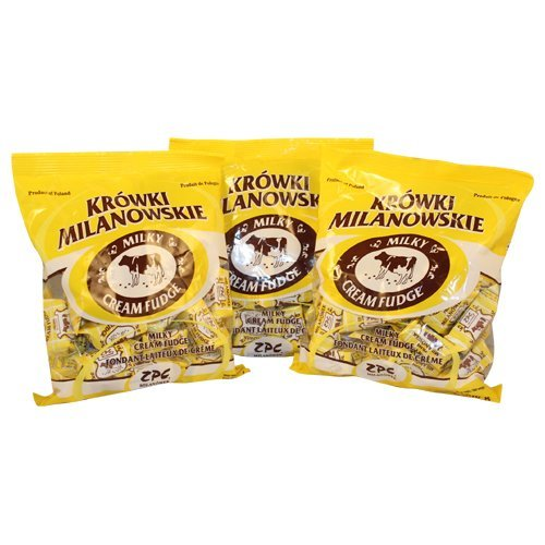 UPC 742386970712, Krowki Milanowskie Milky Cream Fudge (300g/10.6oz) Pack of 3