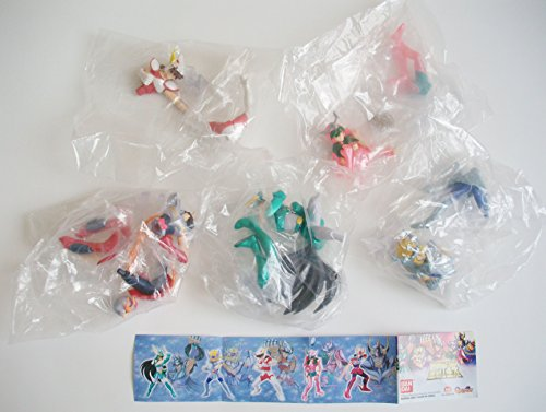 Bandai 5 Saint Seiya Gashapon Capsule Figure Set ()
