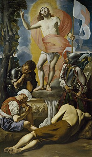 Oil Painting 'Maino Fray Juan Bautista Resurreccion De Cristo 1612 14' 12 x 20 inch / 30 x 52 cm , on High Definition HD canvas prints is for Gifts And Bath Room, Garage And Kitchen Decoration, easy