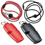 Fox 40 Micro Marine Whistle with Breakaway Lanyard - 2 Pack