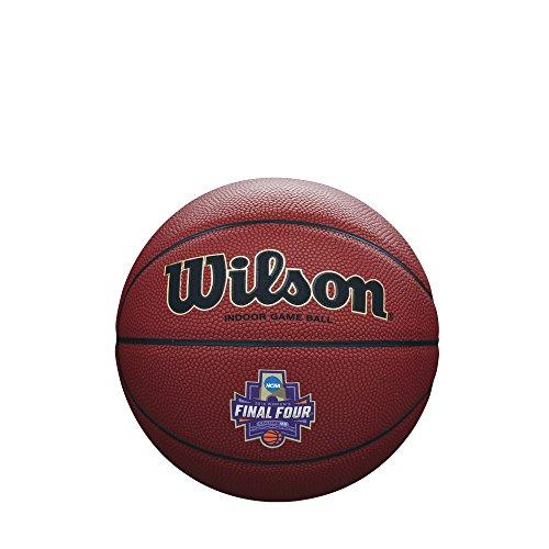 - Wilson Sporting Goods NCAA Women's Final Four Mini Replica Basketball, Brown
