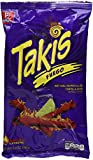 Bracel, Takis, Fuego Hot Chili Pepper & Lime Tortilla Chips, 9.9-Ounce Bag(280g), pack of 2
