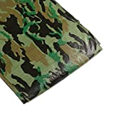 ATE Pro. USA 77085 Tarpaulin, 10 by 20-Feet, Camouflage