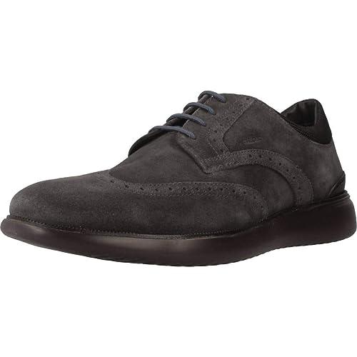Geox U Winfred E, Zapatos de Cordones Brogue para Hombre: Amazon.es: Zapatos y complementos