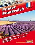 Frankreich Strassenatlas: 1:200 000, Strassenkarten mit Sehenswürdigkeiten, Stadtpläne, Paris und Umgebung (Hallwag Atlanten)