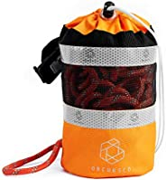 Obcursco Kayak Throw Bag for Water Rescue with 70ft Reflective Throwable Rope, Floating Throwing Line for Whit