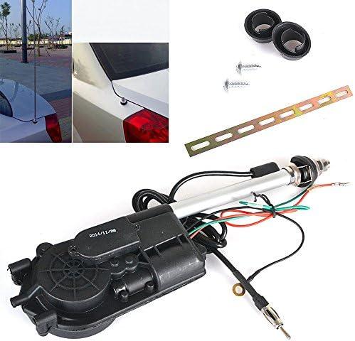 Rayinblue Autoantennen Set Elektrische Universal Autoradioantenne Für Besseren Empfang Schwarz Auto