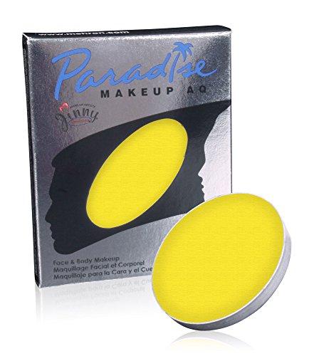Mehron Makeup Paradise Makeup AQ Refill (.25 oz) (YELLOW) for $<!--$7.14-->