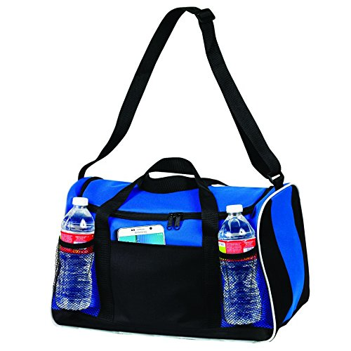BuyAgain Duffle Bag, 17″ Small Travel Carry On Sport Duffel Gym Bag.