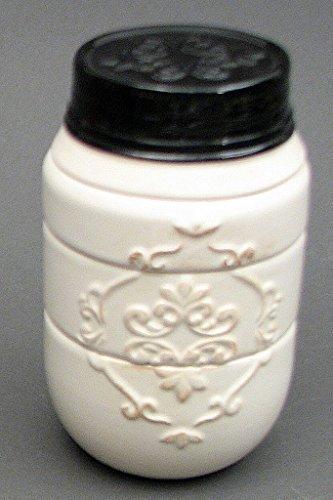 Ceramic Mason Jar Measuring Cups 4pc Set (White) by IWGAC