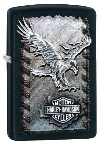 Harley Davidson Eagle Black Matte Lighter product image