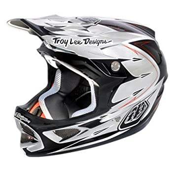 Troy Lee Designs D3 Palmer - Casco para descenso, color gris Talla:mediano