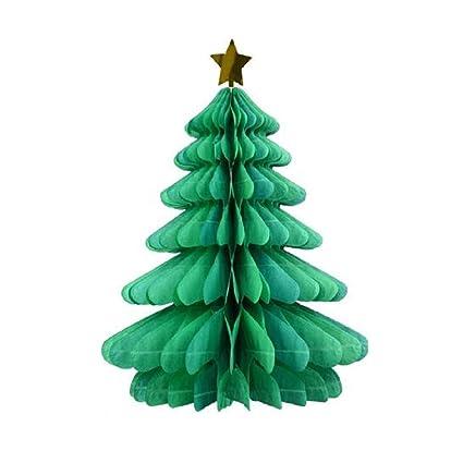 Christmas Tree Toys Handmade.Amazon Com Christmas Tissue Paper Trees Centerpiece Table