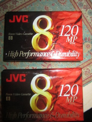 JVC 120-Minute Standard 8mm Camcorder Tapes
