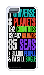 Apple iPhone 5C Cases, Apple iPhone 5C Case/Cover Designs Still Single Custom TPU Rubber Soft iPhone 5C Case and Cover - White