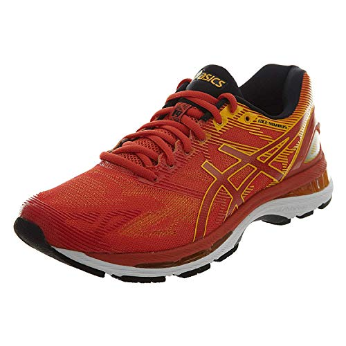 ASICS Mens Gel-Nimbus 19 Running Shoe, Red/Fusion/Phantom, 11.5 D(M) US