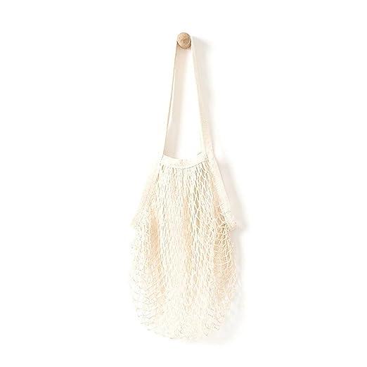 be7c7e16fc4 Amazon.com: Han Shi Shopping Bag, Women Fashion Mesh Net Turtle Bag ...
