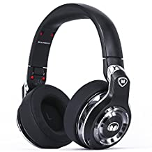 Monster Elements Wireless Over-Ear Headphones with Digital USB Audio, Black Slate