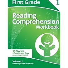 First Grade Reading Comprehension Workbook: Volume 1