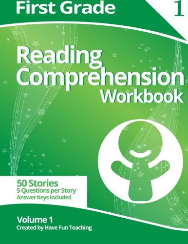First Grade Reading Comprehension Workbook: Volume 1