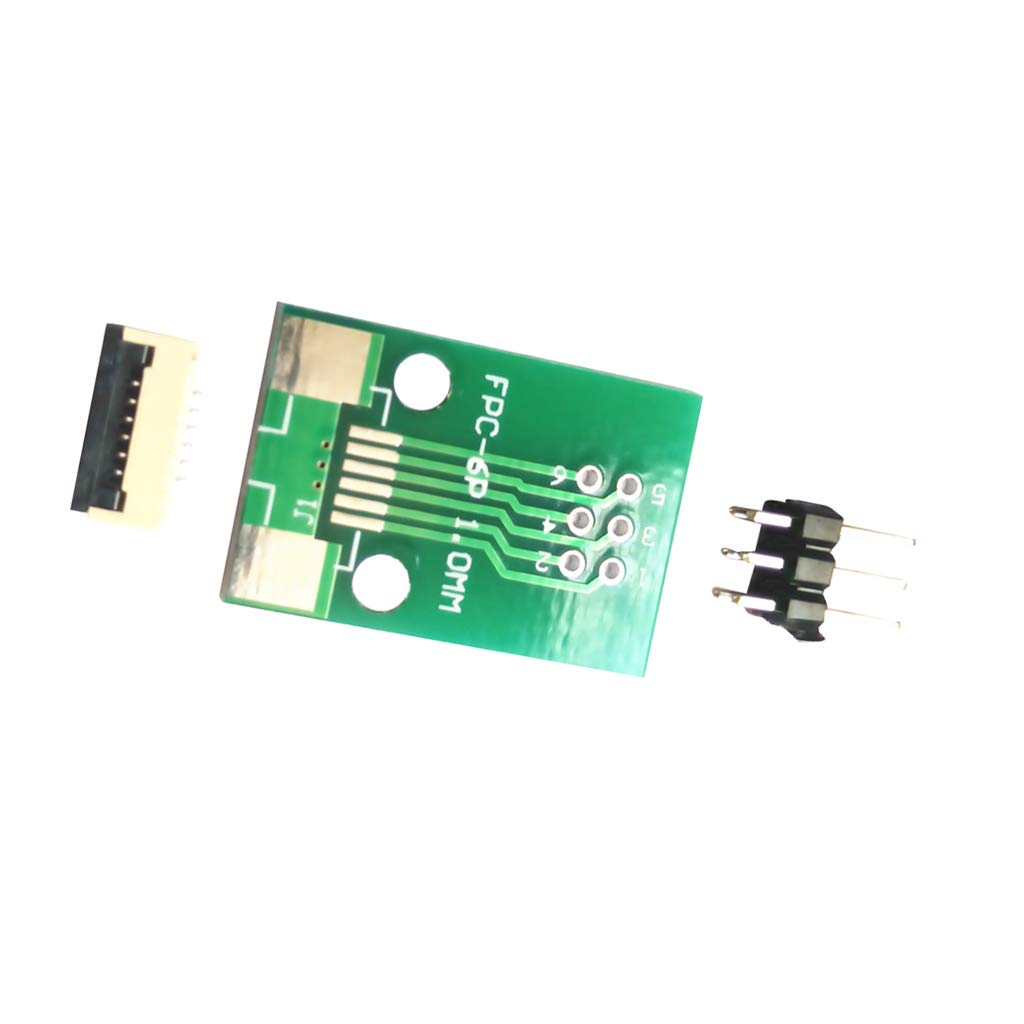 Adapter Plate FFC to 2.54 Inline Transfer Board 1mm Spacing Pin